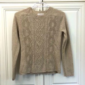 Kenar cable knit sweater
